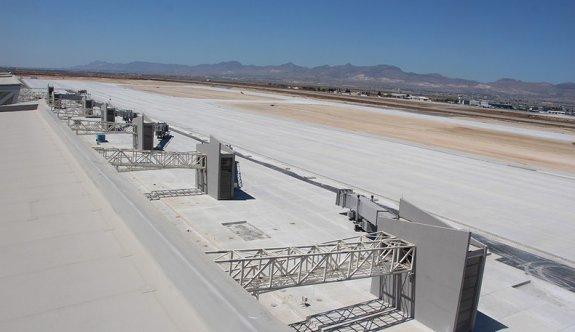 Havaalanının asfaltlanmasında usulsüzlük iddiası