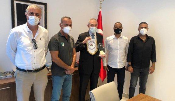 Hentbol Federasyonu'ndan Saraybosna Büyük Elçiliği'ne ziyaret