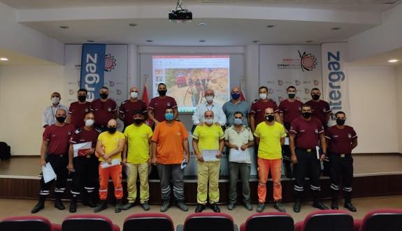 Intergaz, orman yangınlarıyla ilgili eğitim düzenledi
