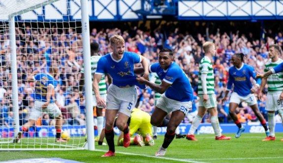 İskoçya derbisinde kazanan Rangers