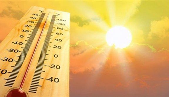 Kuzey Kıbrıs'ta sıcaklık rekoru kırılıyor