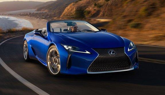 Lexus'un çarpıcı üstsüzü satışa sunuldu