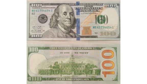 Sahte 100'lük Dolarlara dikkat