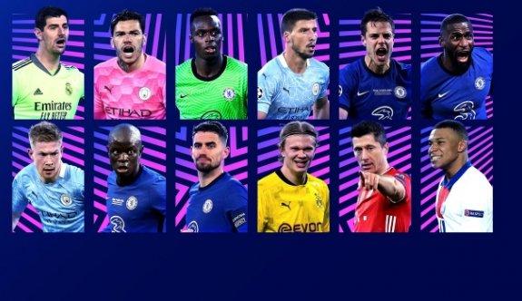 UEFA aday listeleri belirledi