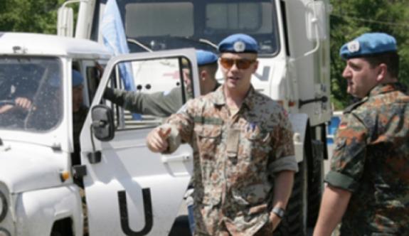 UNFICYP askeri darp edilerek hastanelik oldu