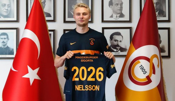 Victor Nelsson resmen Galatasaray'da