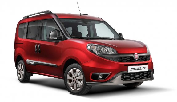 Yeni Fiat Doblo Trekking makyajlandı