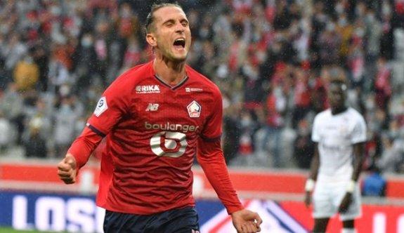 Yusuf attı, Lille ilk galibiyetini aldı