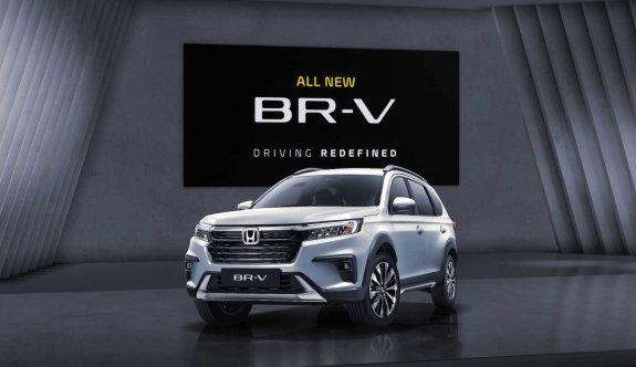 2021 Honda BR-V'nin örtüsü kaldırıldı