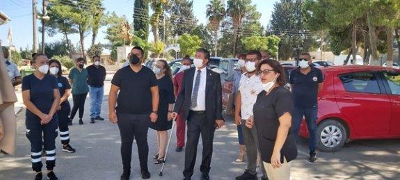 Akdoğan Sağlık Merkezi'nde hızlı testler yapılmaya başlandı