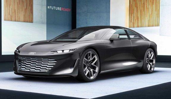 Audi Grandsphere konseptine görkemli tanıtım