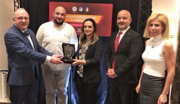 Avrupa Biyoteknoloji Derneği'inden KKTC'nin yerli PCR kitine gururlandıran ödül