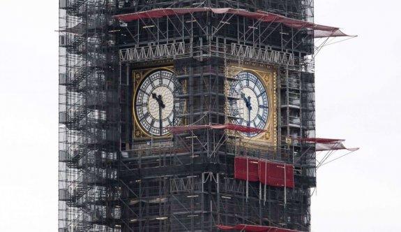 Big Ben'in 5 yıllık tadilatında sona gelindi