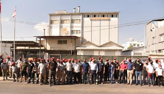 BİNBOĞA-YEM Ltd'de tam gün grev yapılıyor