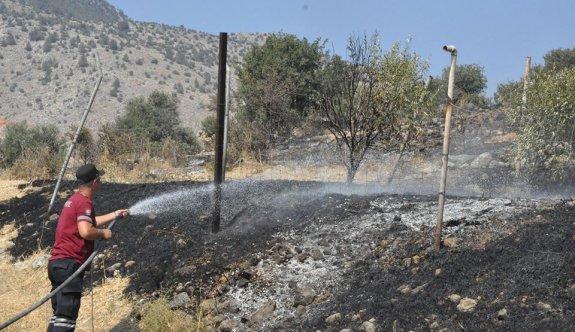 Bir haftada 18 yangın, 104 bin TL'lik zarar