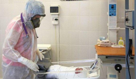 Covid-19'a yakalanan bebeğin durumu kritik
