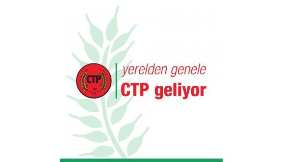 CTP yerel seçim startını veriyor