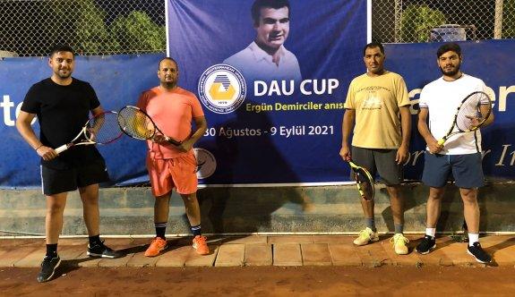 DAÜ Cup'ta heyecanlı maçlar oynanıyor