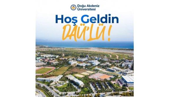 DAÜ'ye toplamda 1500 öğrenci yerleşti