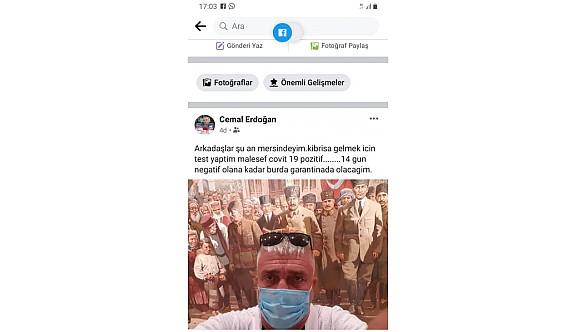 Esentepe Belediye başkanı Erdoğan ülkeye dönemedi