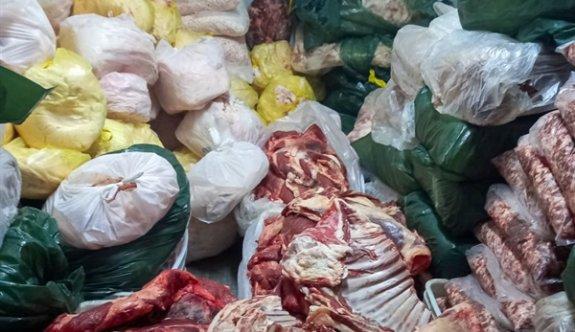 Gazimağusa'da 3 ton kaçak et ele geçirildi