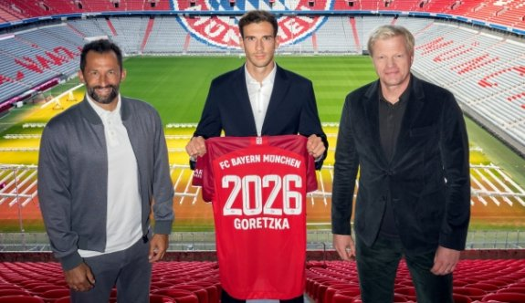 Goretzka 2026'ya kadar Bayern Münih'te