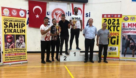 İlk MMA Şampiyonası birincisi Aziz Spor Derneği
