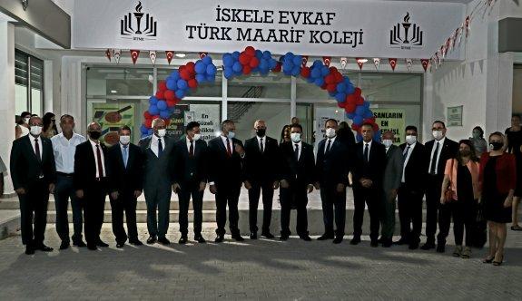 İskele Evkaf Türk Maarif Koleji hizmete açıldı