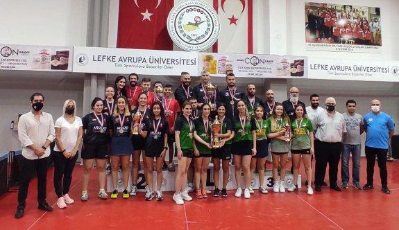 Masa Tenisinde KTSYD Kupası heyecanı yaşandı