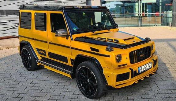 Mercedes-Benz'den sıradışı bir araç: G-Boss