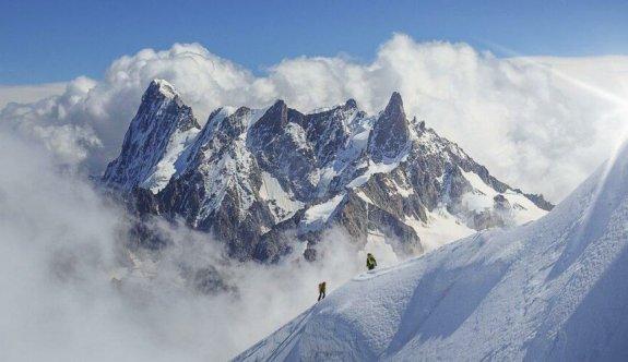 Mont Blanc eriyor: Bir metre kısaldı