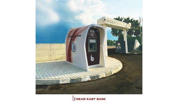 Near East Bank Kuzey Kıbrıs genelinde ATM'lerini yaygınlaştırıyor
