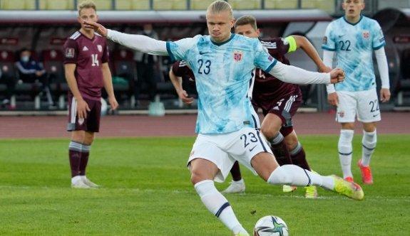 Norveç, Letonya deplasmanında galip