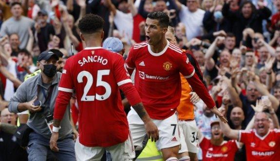 Ronaldo 2 golle döndü, United kazandı