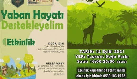 """Taşkent Doğa Parkı'nda Yaban Hayatı Destekleyelim"""" etkinliği düzenleniyor"""