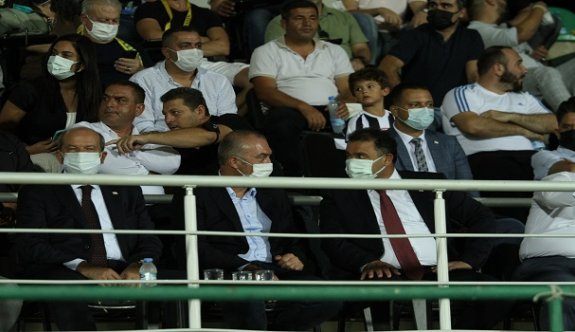 Tatar, Süper Kupa maçındaydı