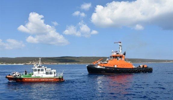 Tatlısu'nun 2 mil açığında denizde renk değişimi nedeniyle harekete geçildi
