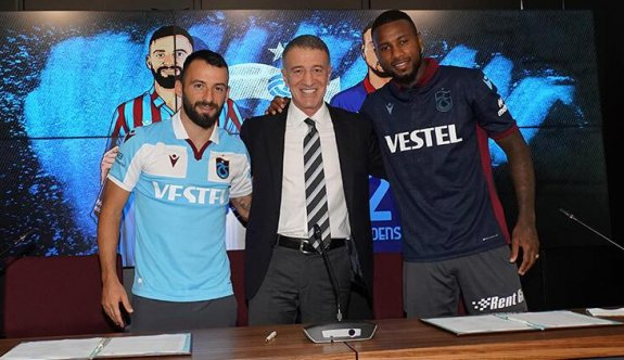 Trabzonspor, Siopis ve Denswil'e imza töreni düzenledi