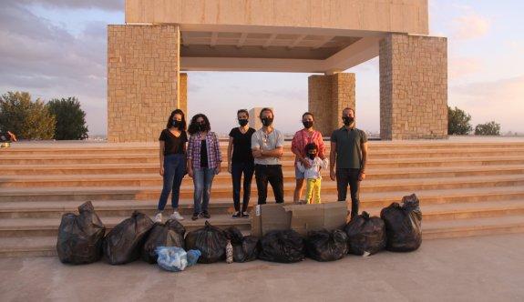 Türk Bankası çevre gönüllülerinden duyarlılık örneği