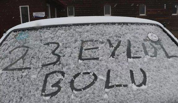 Türkiye'ye kar erken geldi