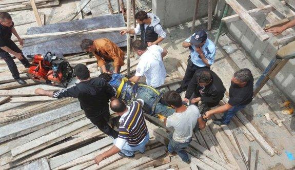 Türkmenköy'de iş kazası: 1 işçi ağır yaralı