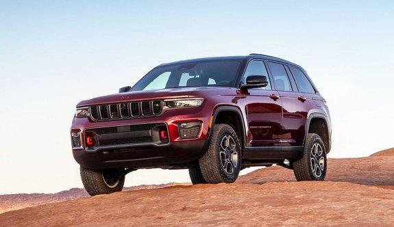2022 Jeep Grand Cherokee görücüye çıktı