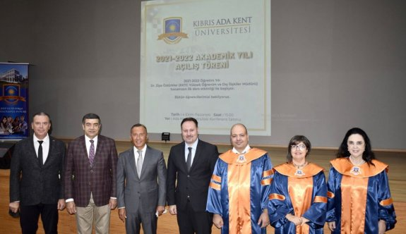 Ada Kent Üniversitesi'nde akademik yıl açılışı yapıldı