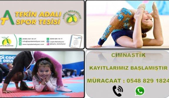 Aktuğ'dan, çocukları cimnastiğe başlatma çağrısı