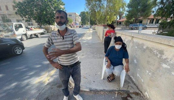 Beş çocuklu aile sokakta kaldı