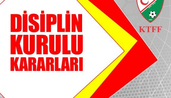 Disiplin Kurulu kararları açıklandı