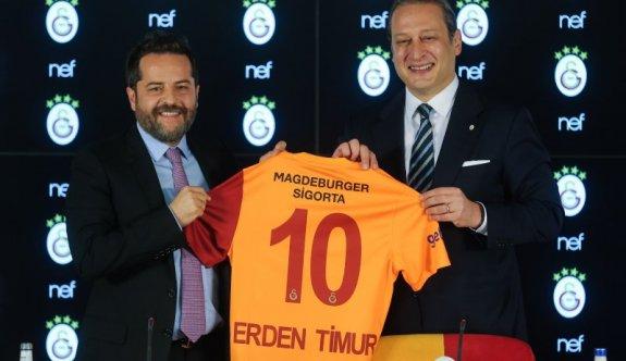 Galatasaray'dan stat için dev sponsorluk
