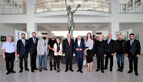 """""""Kıbrıs Modern Sanat Müzesi sayesinde ülkemiz geleceğe emin adımlarla yürüyor"""""""