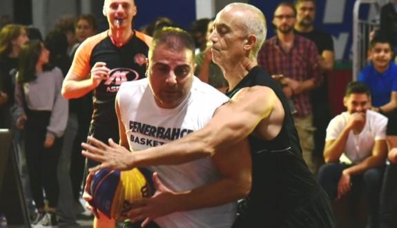 Lefkoşa'da basketbol şov tamamlandı