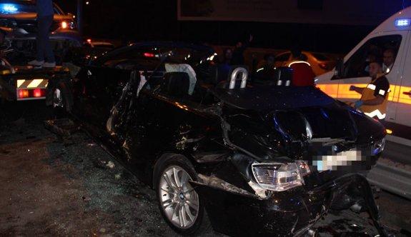 Mağusa'da kaza: Biri ağır, 4 yaralı